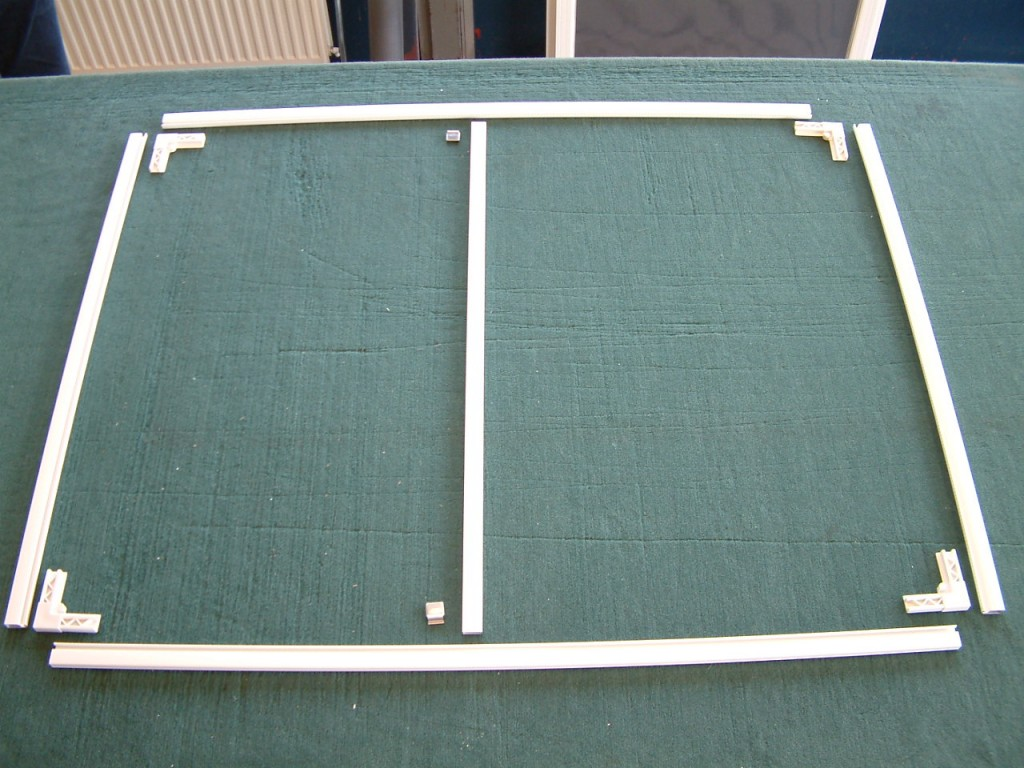 изготовление рамок для москитной сетки